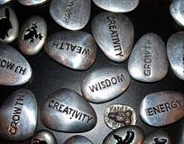 πέτρες έμπνευσης Στοκ εικόνες με δικαίωμα ελεύθερης χρήσης