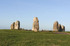 Πέτρες αγγλικής μπύρας - κύκλος πετρών Στοκ εικόνες με δικαίωμα ελεύθερης χρήσης