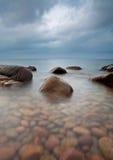 πέτρες ακτών Στοκ Φωτογραφίες