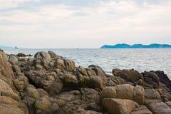 Πέτρες ακτών Στοκ Φωτογραφία