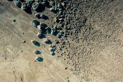 Πέτρες αμμοχάλικου κατασκευασμένες ως αφηρημένο υπόβαθρο grunge στοκ εικόνα με δικαίωμα ελεύθερης χρήσης