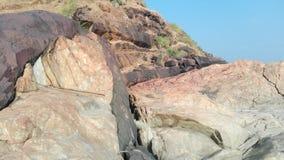Πέτρες γραπτές, σύσταση, υπόβαθρο Στοκ Φωτογραφία