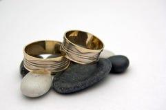 πέτρες δαχτυλιδιών αρραβώ Στοκ φωτογραφίες με δικαίωμα ελεύθερης χρήσης