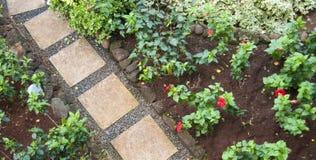 πέτρες διαβάσεων κήπων λο& Στοκ εικόνες με δικαίωμα ελεύθερης χρήσης