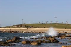 Πέτρες θάλασσας στην παραλία σε Jaffa Στοκ φωτογραφία με δικαίωμα ελεύθερης χρήσης