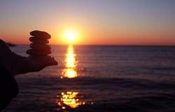 πέτρες ισορροπίας Στοκ φωτογραφίες με δικαίωμα ελεύθερης χρήσης