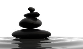πέτρες ισορροπίας διανυσματική απεικόνιση