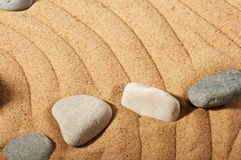 πέτρες κήπων Στοκ εικόνες με δικαίωμα ελεύθερης χρήσης