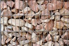 Πέτρες και Ιστός χάλυβα Στοκ Φωτογραφίες