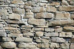 Πέτρες και τούβλα του παλαιού μεσαιωνικού κάστρου Σύσταση του τοίχου στοκ φωτογραφία με δικαίωμα ελεύθερης χρήσης