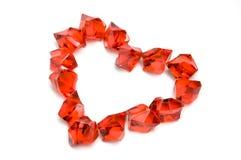 πέτρες καρδιών Στοκ Φωτογραφίες