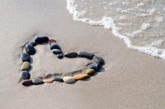 πέτρες καρδιών Στοκ φωτογραφία με δικαίωμα ελεύθερης χρήσης