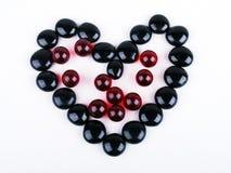 πέτρες καρδιών Στοκ εικόνα με δικαίωμα ελεύθερης χρήσης