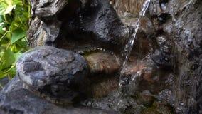 Πέτρες καταρρακτών και βράχων απόθεμα βίντεο