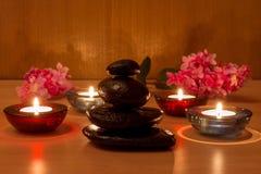 πέτρες κεριών Στοκ φωτογραφία με δικαίωμα ελεύθερης χρήσης