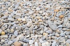 Πέτρες σε μια παραλία, καλή για το υπόβαθρο Στοκ Εικόνες