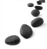 Πέτρες σε μια σειρά στοκ φωτογραφίες