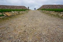 Πέτρες σε Koknese στον κήπο πάρκων των πεπρωμένων στη Λετονία στοκ φωτογραφίες