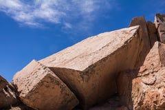 Πέτρες στην έρημο Στοκ Φωτογραφίες
