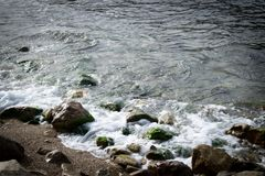 Πέτρες στην παραλία στοκ φωτογραφίες