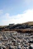 Πέτρες στην παραλία στο νησί Islay Σκωτία Στοκ Εικόνες
