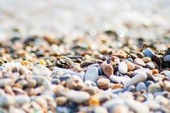 Πέτρες στην παραλία Στοκ Εικόνα