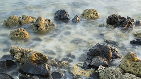 Πέτρες στη θάλασσα Στοκ Εικόνες