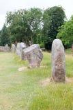 Πέτρες στο νεολιθικό κύκλο Avebury Στοκ φωτογραφία με δικαίωμα ελεύθερης χρήσης