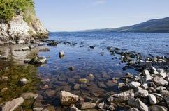 Πέτρες στο νερό Στοκ Εικόνες