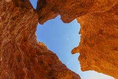 Πέτρες στο φαράγγι Charyn Στοκ Φωτογραφίες