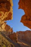 Πέτρες στο φαράγγι Charyn Στοκ φωτογραφία με δικαίωμα ελεύθερης χρήσης