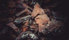 Πέτρες, σύσταση πετρών Στοκ Φωτογραφία