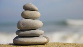 Πέτρες της Zen απόθεμα βίντεο