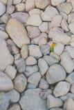Πέτρες των διαφορετικών μεγεθών και των μορφών Στοκ Εικόνες