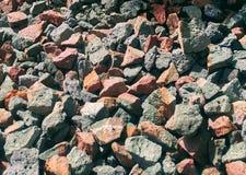 Πέτρες των τούβλων αργίλου Στοκ Εικόνες