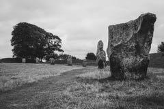 Πέτρες Avebury, UK, Wiltshire στοκ εικόνα με δικαίωμα ελεύθερης χρήσης