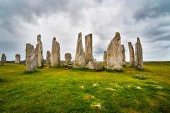 Πέτρες Callanish στοκ φωτογραφίες