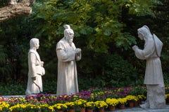 Πέτρινα αγάλματα στοκ φωτογραφίες