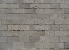 Πέτρινα γκρίζα τούβλα Στοκ Φωτογραφία