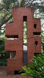 Πέτρινα γλυπτά, κήποι γλυπτών της Ann Norton, δυτικό Palm Beach, Φλώριδα Στοκ Εικόνα