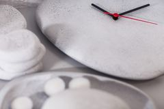 Πέτρινα ρολόγια στοκ φωτογραφία με δικαίωμα ελεύθερης χρήσης