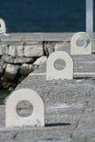 Σημείο αποβαθρών βαρκών Στοκ φωτογραφίες με δικαίωμα ελεύθερης χρήσης
