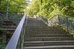 Πέτρινα σκαλοπάτια Στοκ φωτογραφία με δικαίωμα ελεύθερης χρήσης