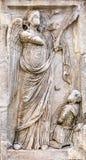 Πέτρινη αψίδα αγγέλου του Constantine Ρώμη Ιταλία Στοκ Φωτογραφία