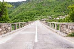 Πέτρινη γέφυρα της ταινίας Στοκ Εικόνες