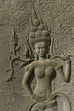 Πέτρινη γλυπτική, Angkor Wat, Καμπότζη Στοκ Φωτογραφία