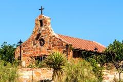 Πέτρινη εκκλησία στο Νέο Μεξικό Στοκ φωτογραφία με δικαίωμα ελεύθερης χρήσης