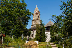 Πέτρινη εκκλησία Densus Στοκ Εικόνα