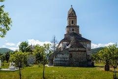 Πέτρινη εκκλησία Densus Στοκ φωτογραφίες με δικαίωμα ελεύθερης χρήσης