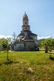 Πέτρινη εκκλησία Densus Στοκ εικόνες με δικαίωμα ελεύθερης χρήσης